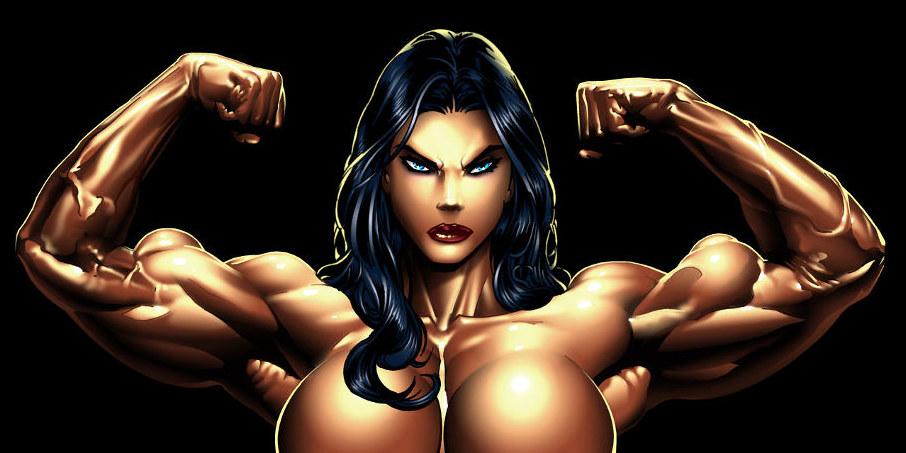 lielākie muskuļi