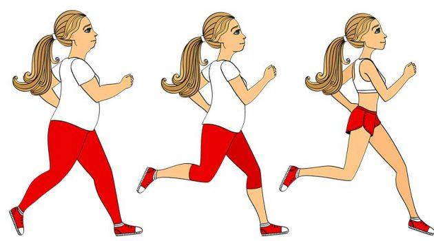 staigāšana svara nomešanai